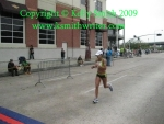 This is one fast Houston female runner