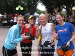 Female age group winners at the 2009 Classical 25K