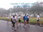 A group of Fort Bend Fit running club on their second loop
