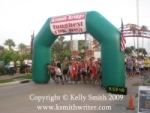 Toughest 10K Starting Line at Kemah Boardwalk