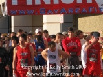 Runners at the starting line in Clear Lake, Texas